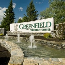 Greenfield Entrance Sign