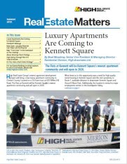 Summer 2019 Real Estate Matters cover