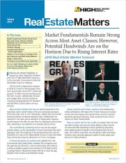 Spring 2018 Real Estate Matters